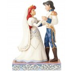 FIGURINE ARIEL ET SON PRINCE MARIÉS DISNEY TRADITIONS