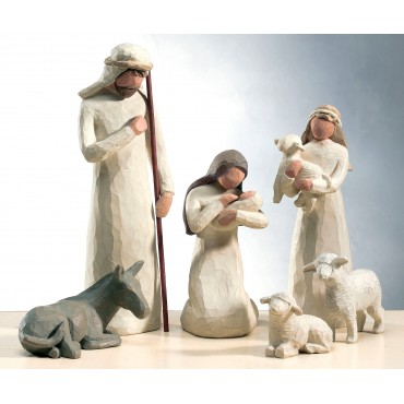 FIGURINES NATIVITÉ CRÈCHE WILLOW TREE