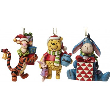 LOT 3 SUSPENSIONS WINNIE THE POOH DISNEY TRADITIONS