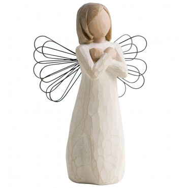 FIGURINE WILLOW TREE GESTE D'AMOUR