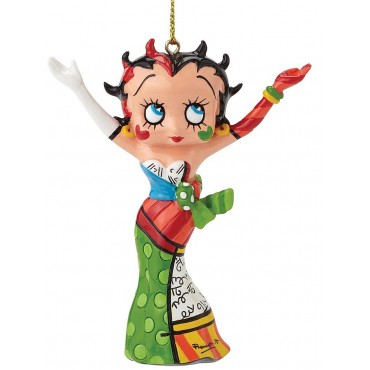 FIGURINE A SUSPENDRE BETTY BOOP BRITTO HANDS IN THE AIR