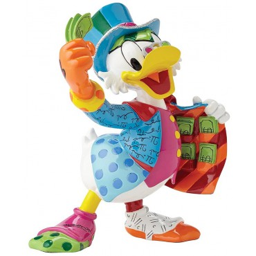 FIGURINE DISNEY BRITTO ONCLE PICSOU (UNCLE SCROOGE)