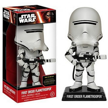 FUNKO WACKY WOBBLER - STAR WARS EP VII - First Order Flametrooper