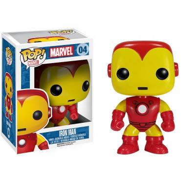 MARVEL - POP 04 Iron Man classique