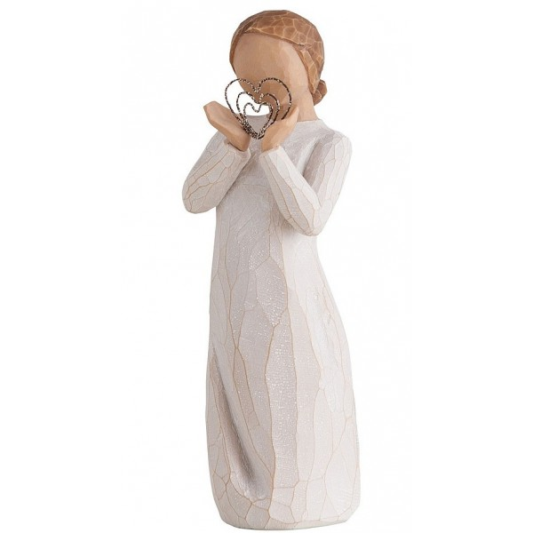 FIGURINE WILLOW TREE BEAUCOUP D'AMOUR