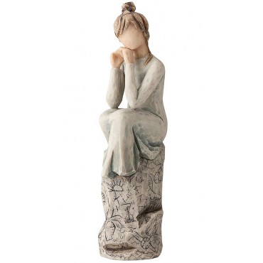 FIGURINE WILLOW TREE SUSAN LORDI PATIENCE