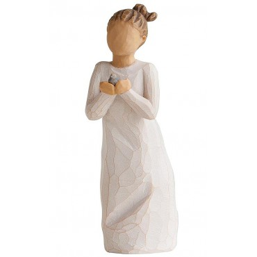 WILLOW TREE FIGURINE PROTECTION ET SOUTIEN
