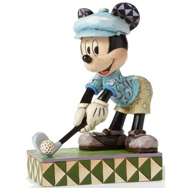FIGURINE MICKEY MOUSE GOLFEUR DISNEY TRADITIONS