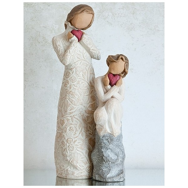 MAMAN ET FILLE AMOUR POUR TOUJOURS WILLOW TREE