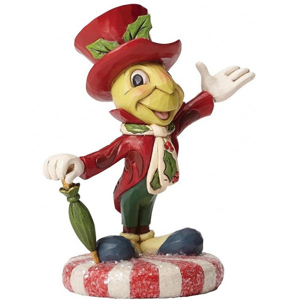 FIGURINE JOLLY JIMINY DISNEY TRADITIONS JIM SHORE