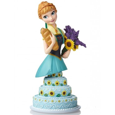 ANNA FROZEN FEVER DISNEY GRAND JESTER BUST