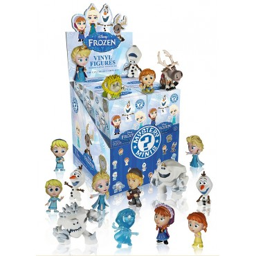 FROZEN DISNEY MYSTERY MINI SERIES 12 FIGURINES