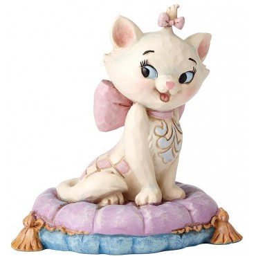 FIGURINE MINI MARIE DISNEY TRADITIONS JIM SHORE