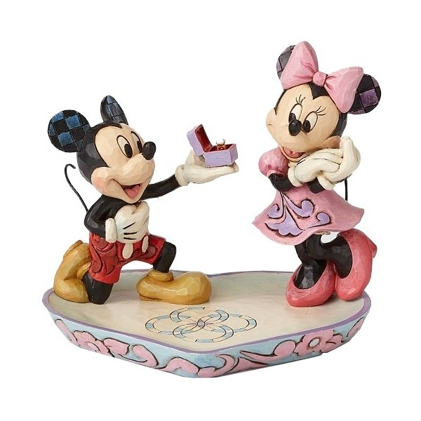 MICKEY MINNIE ET LA BAGUE DE FIANÇAILLES DISNEY TRADITIONS