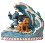 FIGURINE LILO ET STITCH 15ÈME ANNIVERSAIRE DISNEY TRADITIONS