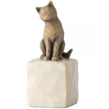 FIGURINE WILLOW TREE J'AIME MON CHAT