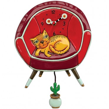 PENDULE ALLEN DESIGNS LE CHAT COOL