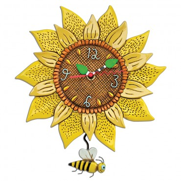 PENDULE ALLEN DESIGNS TOURNESOL
