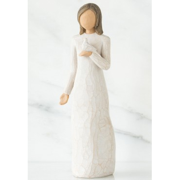 """AVEC SYMPATHIE"" FIGURINE WILLOW TREE"