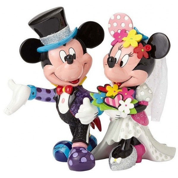 MICKEY ET MINNIE MARIÉS DISNEY BRITTO