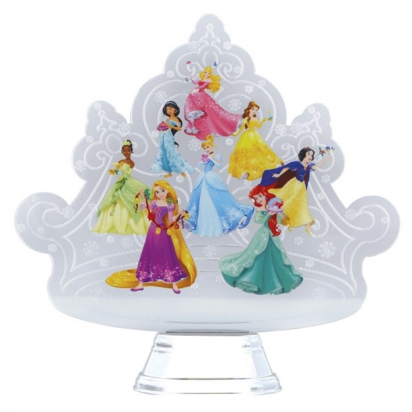 LA COURONNE DES PRINCESSES DISNEY HOLIDAZZLER DEPT.56