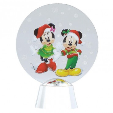 MINNIE ET MICKEY DISNEY HOLIDAZZLER DEPT.56