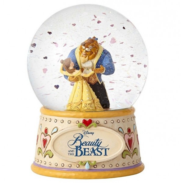 LA BELLE ET LA BÊTE SNOWGLOBE (VERSION NON PERSONNALISABLE) DISNEY TRADITIONS