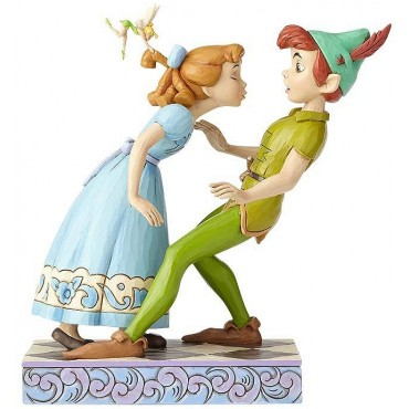 PETER PAN WENDY ET LA FÉE CLOCHETTE 65TH. ANNIVERSAIRE DISNEY TRADITIONS