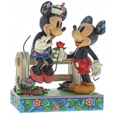 MINNIE ET MICKEY ROMANTIQUES DISNEY TRADITIONS