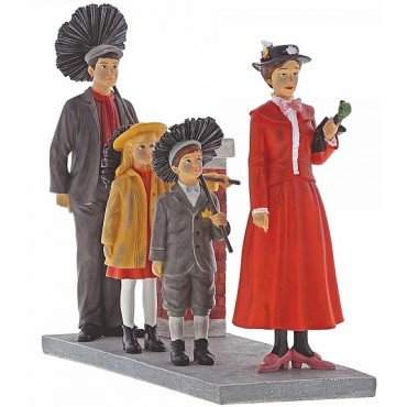 STEP IN TIME FIGURINE MARY POPPINS DISNEY ENCHANTING