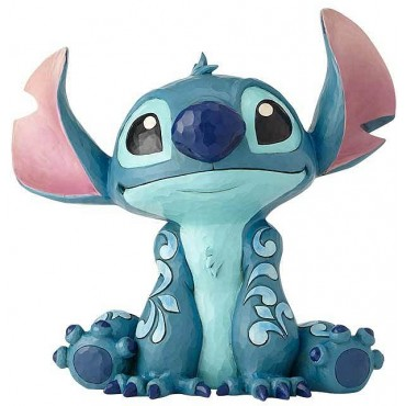 BIG FIGURINE STITCH DISNEY TRADITIONS JIM SHORE