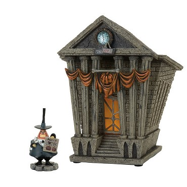 LE MAIRE ET HALLOWEEN TOWN CITY HALL DISNEY DEPT.56