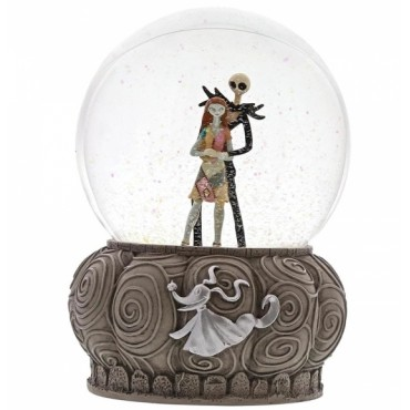 SNOWGLOBE JACK ET SALLY DISNEY SHOWCASE