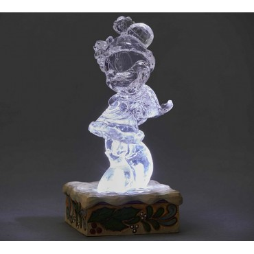 MINNIE GLACE SCULPTÉE LUMINEUSE DISNEY TRADITIONS