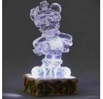 MICKEY GLACE SCULPTÉE LUMINEUSE DISNEY TRADITIONS