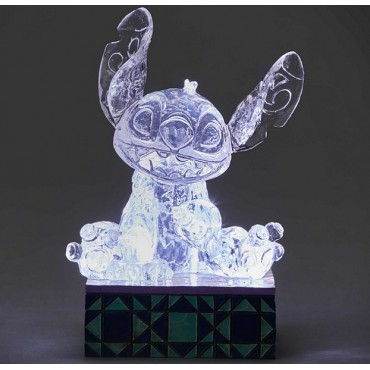 STITCH GLACE SCULPTÉE LUMINEUSE DISNEY TRADITIONS