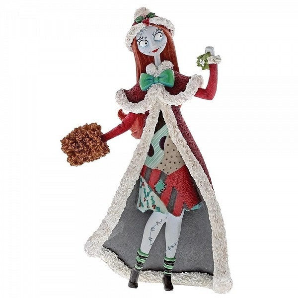 CHRISTMAS SALLY FIGURINE DISNEY SHOWCASE