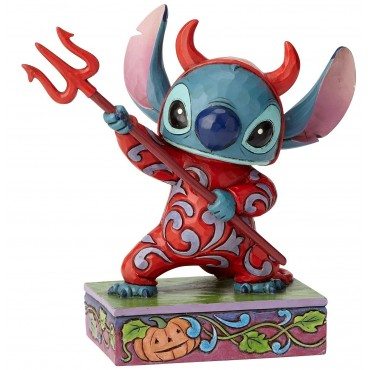 STITCH DÉGUISÉ EN DIABLOTIN DISNEY TRADITIONS