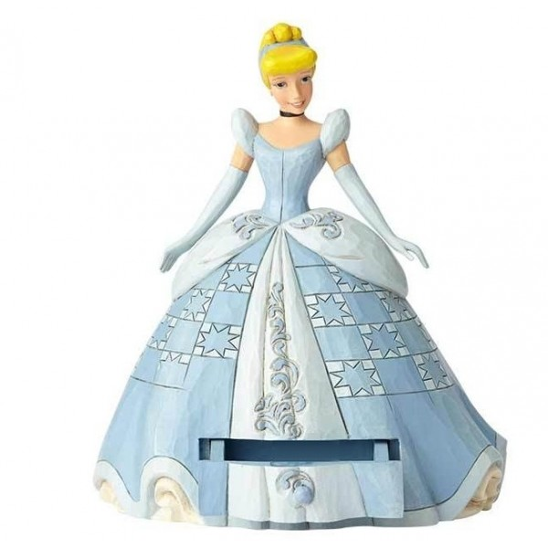 CENDRILLON SECRET CHARM FIGURINE DISNEY TRADITIONS
