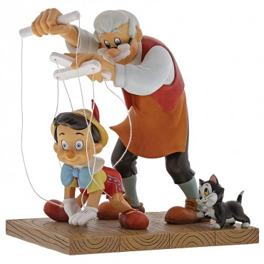 PINOCCHIO ET GEPPETTO DISNEY ENCHANTING
