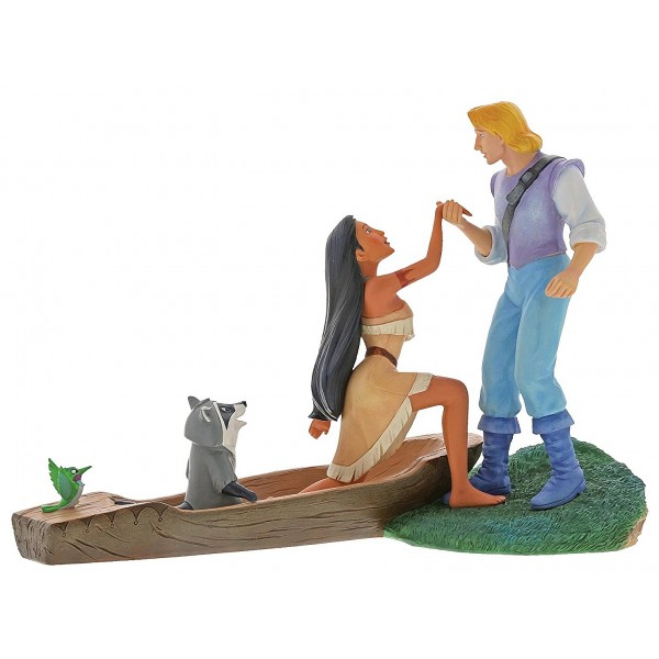 POCAHONTAS ET JOHN SMITH DISNEY ENCHANTING