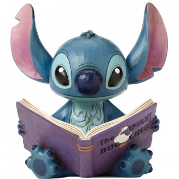 STITCH AVEC LE STORYBOOK DISNEY TRADITIONS JIM SHORE