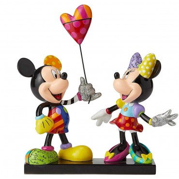 MICKEY ET MINNIE LIMITED EDITION 3000 DISNEY BRITTO