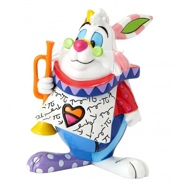 MINI FIGURINE LE LAPIN BLANC DISNEY BRITTO