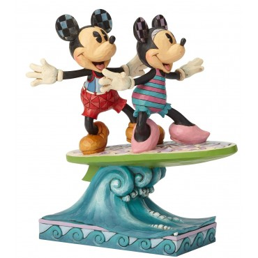 MICKEY ET MINNIE FONT DU SURF DISNEY TRADITIONS