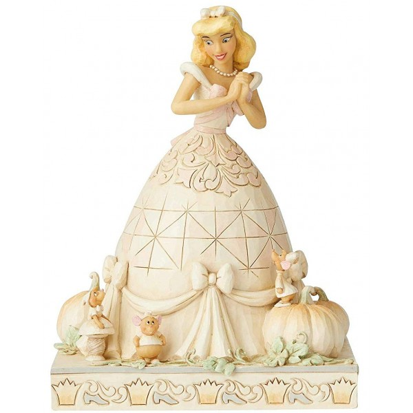 CENDRILLON WHITE WOODLAND DISNEY TRADITIONS