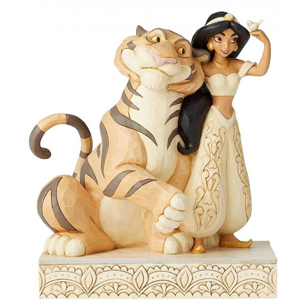 JASMINE ET RAJAH WHITE WOODLAND DISNEY TRADITIONS