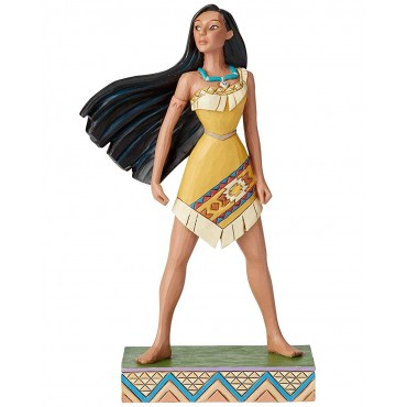 FIGURINE PRINCESSE POCAHONTAS DISNEY TRADITIONS
