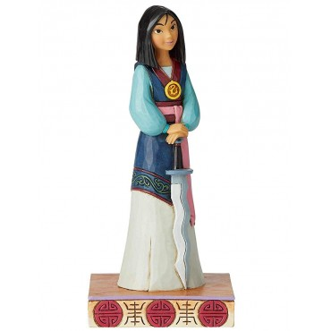 FIGURINE PRINCESSE MULAN DISNEY TRADITIONS