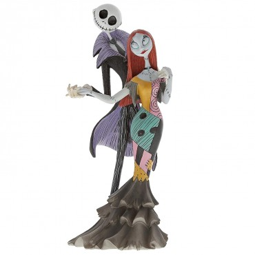 JACK ET SALLY DELUXE FIGURINE DISNEY SHOWCASE